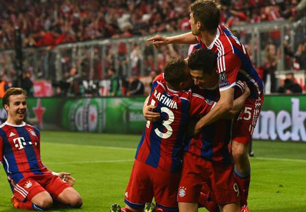 Bayern Munchen vs Porto