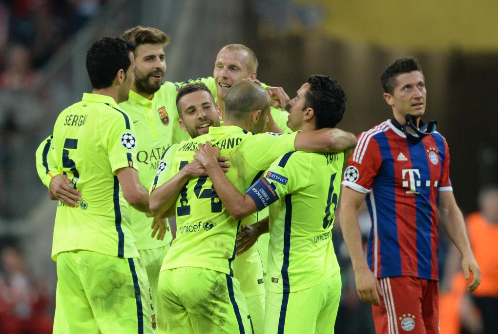 Bayern vs Barcelona (3-2)