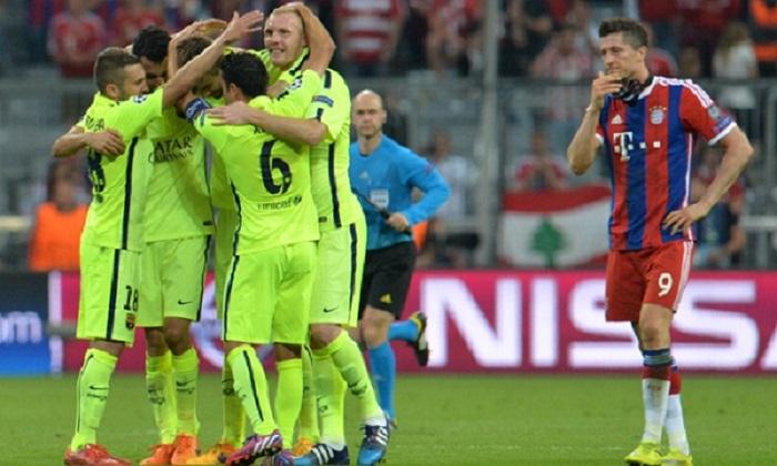 Bayern vs Barcelona