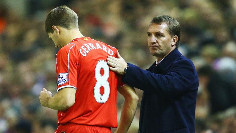 Steven Gerrard-Brendan Rodgers