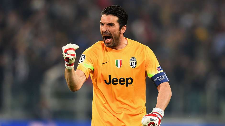 Gianluigi Buffon_Juventus-Real Madrid-champions-league