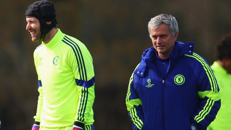 Jose Mourinho-Petr Cech-Chelsea
